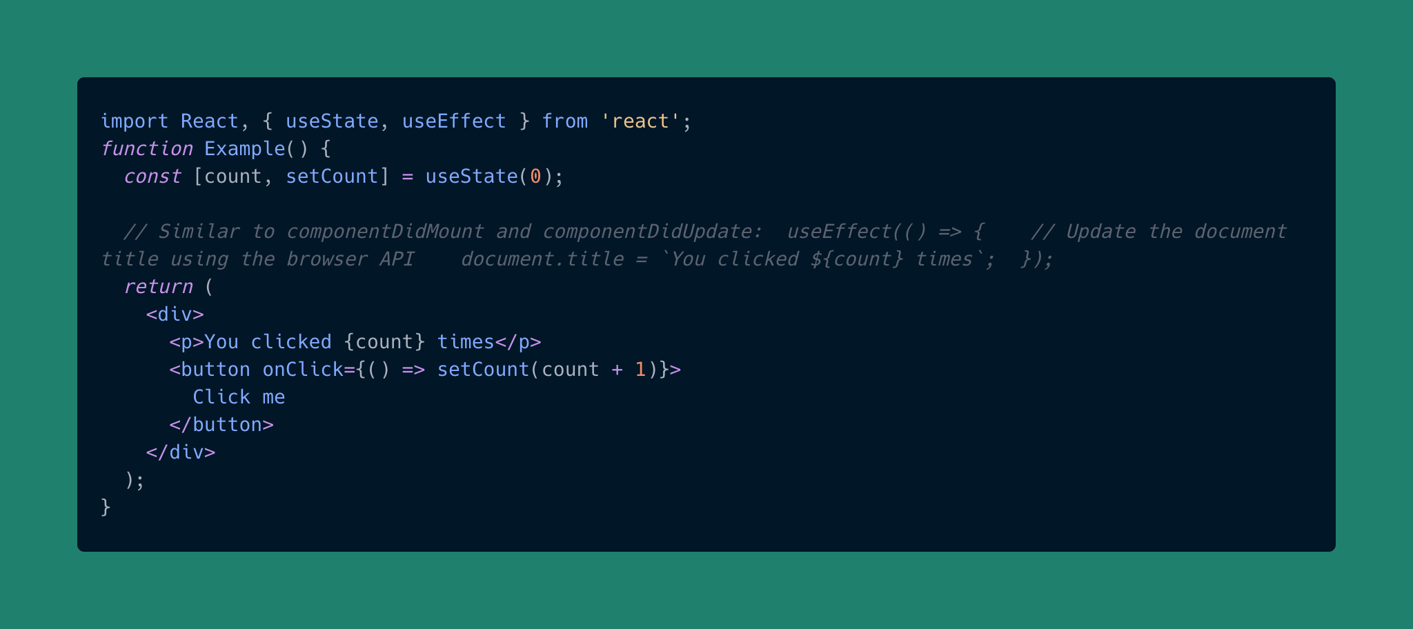 useReducer hook in React